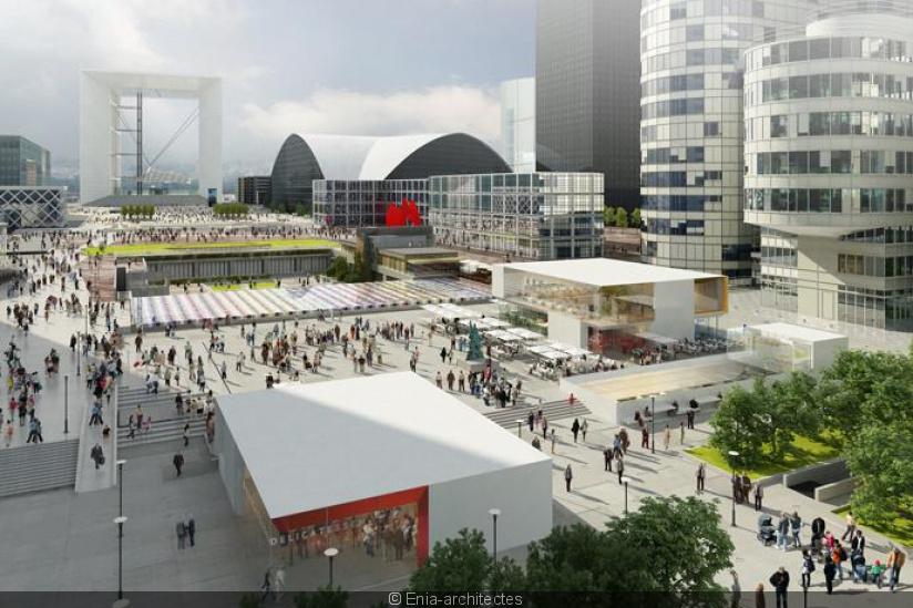 Table square : l'immense lieu dédié à la gastronomie attendu à la défense en avril 2020