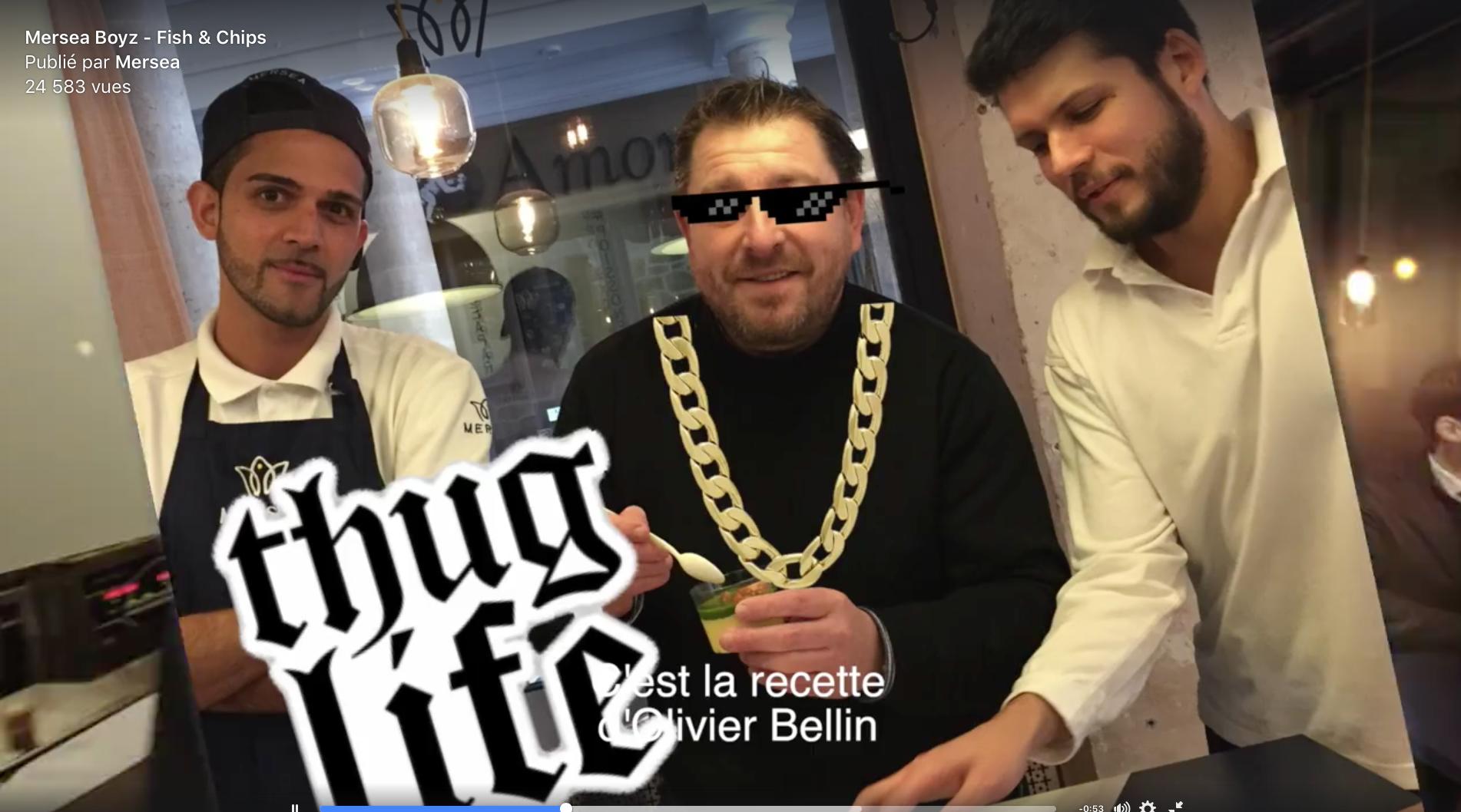 Un clip de rap pour faire découvrir Mersea le street food d'olivier Bellin !